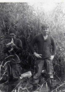 The author (right) with Hays. Photo courtesy Geo. Baranski.